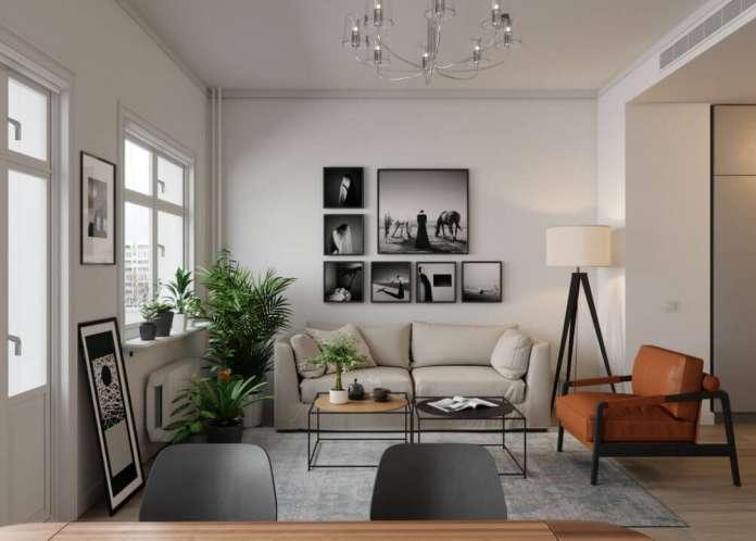 Inšpirácia do obývačky - Škandinávsky štýl