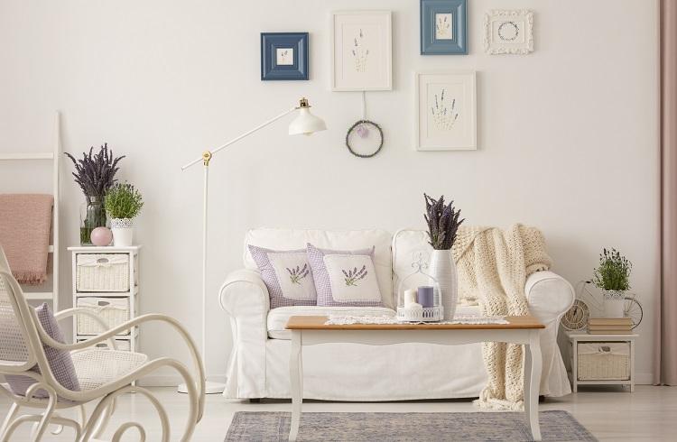 Inšpirácia do obývačky - Provensálsky štýl