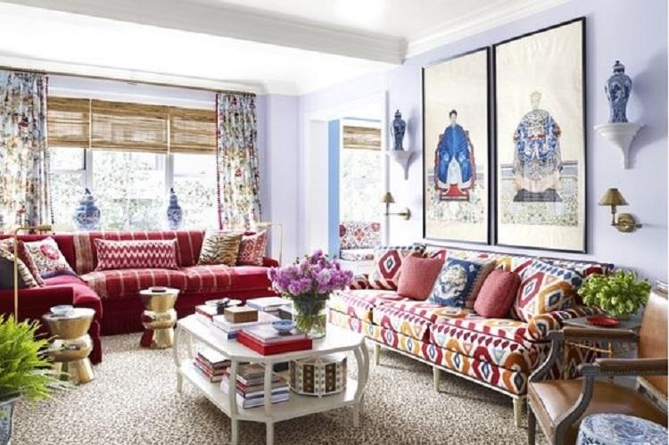 Inšpirácia pre obývačku - Orientálny štýl