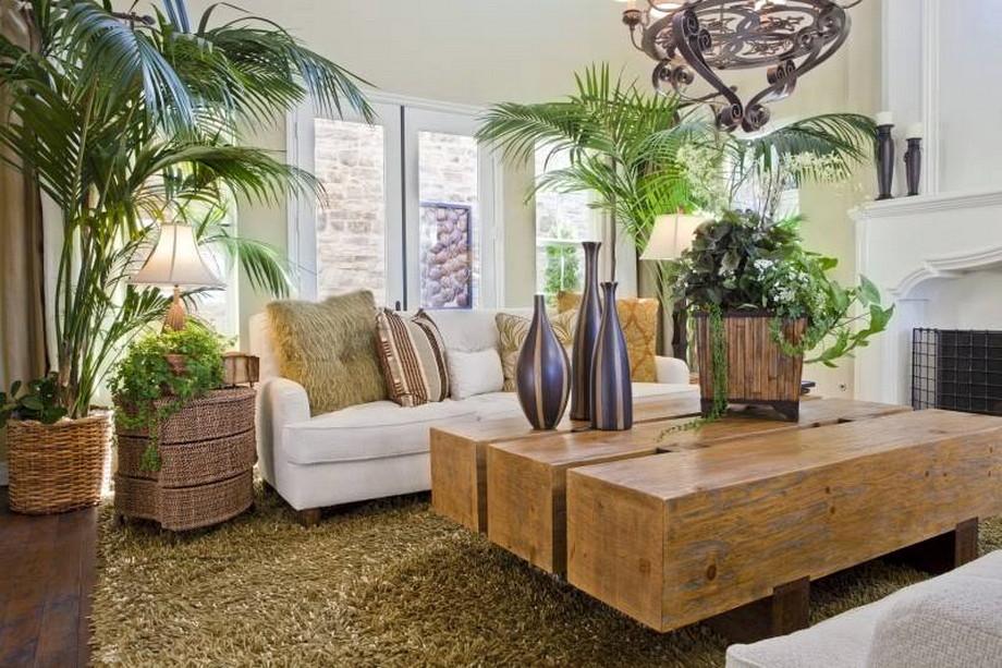 Inšpirácia do obývačky - Prírodný štýl
