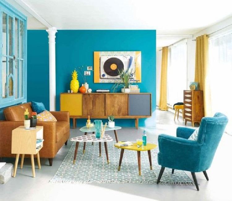 Inšpirácia do obývačky - Retro štýl