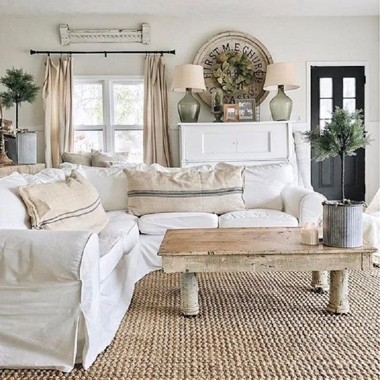 Inšpirácia do obývačky - Rustikálny štýl