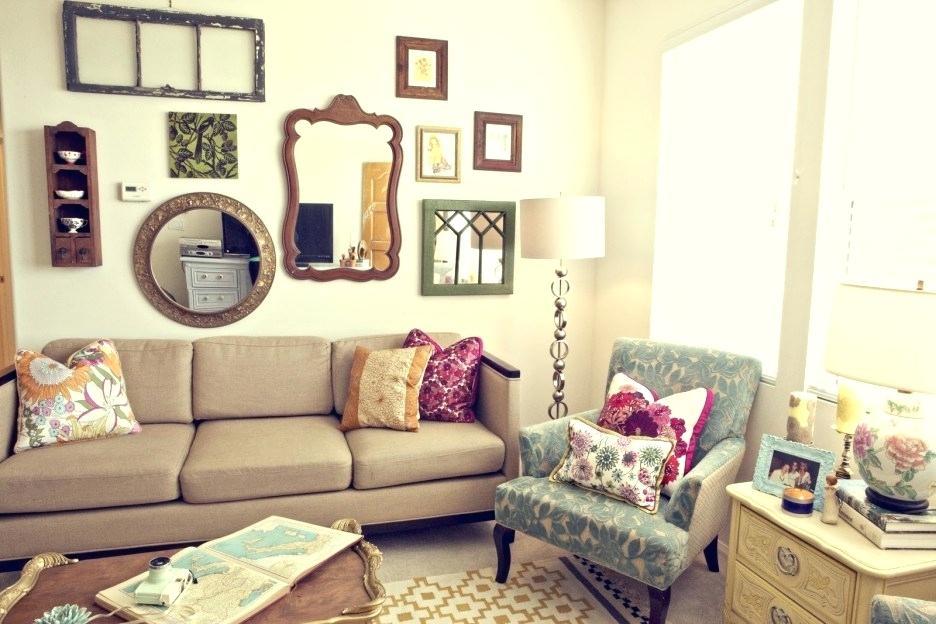 Inšpirácia do obývačky - Vintage štýl