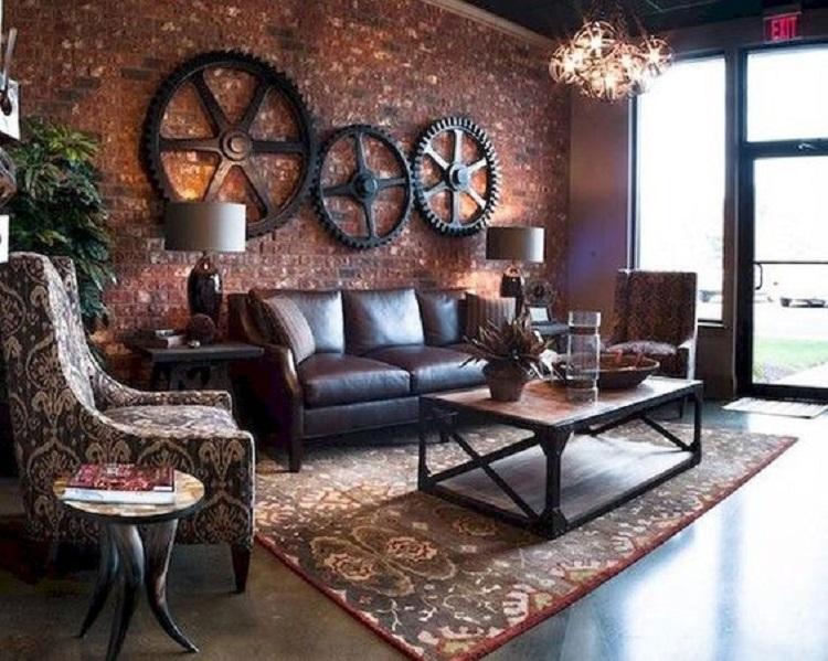 Inšpirácia do obývačky - Industriálny štýl